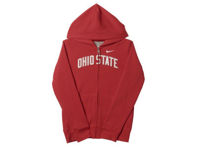 Ohio State Buckeyes NCAA Youth Girls Full Zip Hoodie