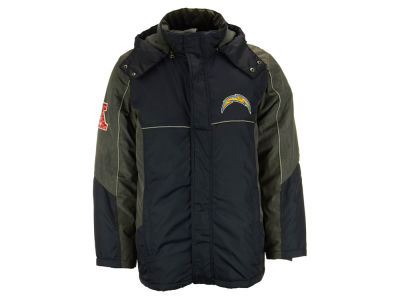 San Diego Chargers GIII NFL Men's Heavy Full Zip Jacket