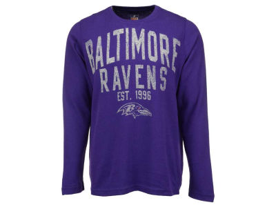 Baltimore Ravens GIII NFL Women's Logo Thermal Shirt