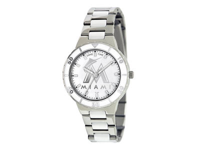 Miami Marlins Pearl Series Ladies Watch