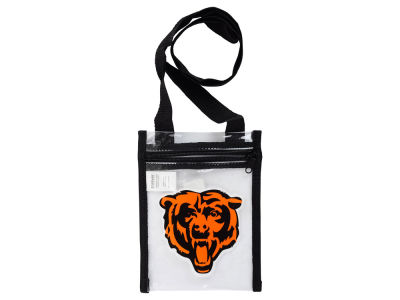 Chicago Bears Clear Crossbody Pouch