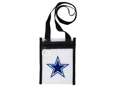 Dallas Cowboys Clear Crossbody Pouch