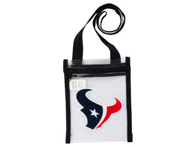Houston Texans Clear Crossbody Pouch