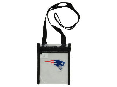 New England Patriots Clear Crossbody Pouch