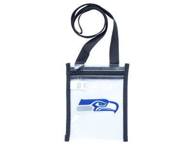 Seattle Seahawks Clear Crossbody Pouch