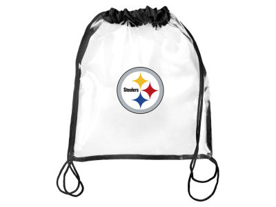 Pittsburgh Steelers Clear Drawstring Backpack