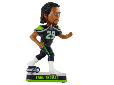 Seattle Seahawks Earl Thomas Springy Logo Bobble
