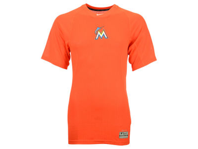 Miami Marlins Nike MLB Men's AC Performance Thermal T-Shirt