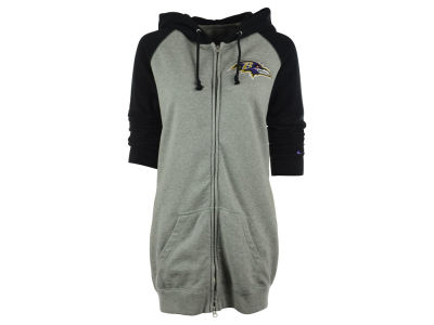 Baltimore Ravens Nike NFL Women's Wildcard Boyfriend Full Zip Hoodie