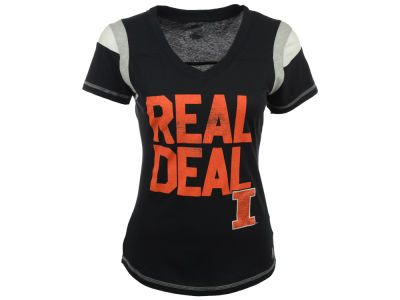Illinois Fighting Illini NCAA Women's Real Deal Screen T-Shirt