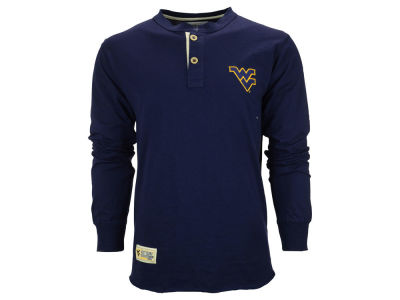 West Virginia Mountaineers NCAA Men's Superstar Pullover Long Sleeve Shirt