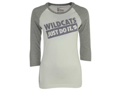 Kansas State Wildcats Nike NCAA Women's 3/4 Sleeve Raglan T-Shirt