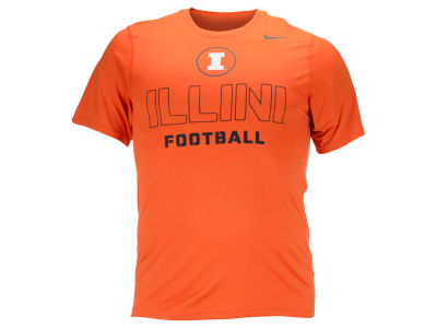 Illinois Fighting Illini Nike NCAA Men's Football Short Sleeve T-Shirt