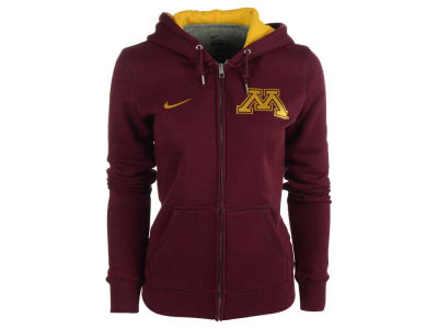 Minnesota Golden Gophers Nike NCAA Ladies Full Zip NKTS Hoodie