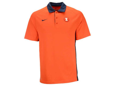 Illinois Fighting Illini Nike NCAA Men's Coaches Polo Shirt