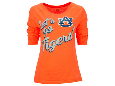Auburn Tigers NCAA Women's Let's Go Long Sleeve Shirt