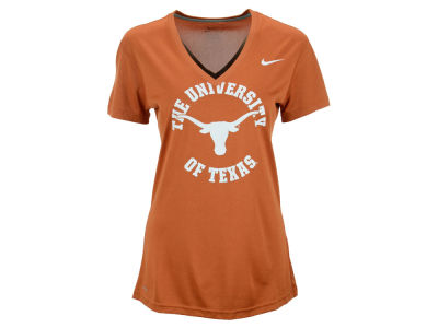Texas Longhorns Nike NCAA Women's Deep V-Neck T-Shirt