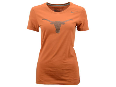 Texas Longhorns Nike NCAA Womens Foundation Logo T-Shirt