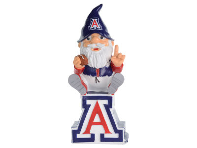 Arizona Wildcats Gnome Sitting on Logo