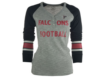 Atlanta Falcons NFL Women's Backup Henley Shirt