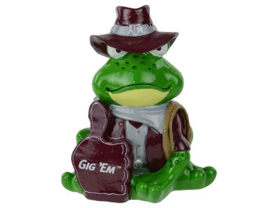 Texas A&M Aggies Thematic Frog Figure