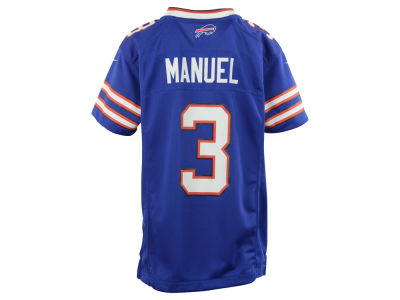 Buffalo Bills EJ Manuel Nike NFL Youth Game Jersey