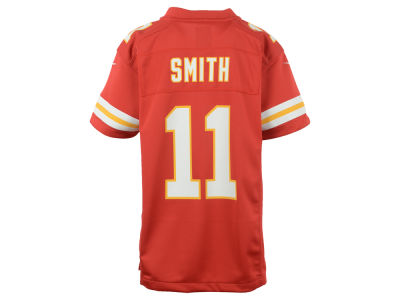 Kansas City Chiefs Alex Smith Nike NFL Youth Game Jersey