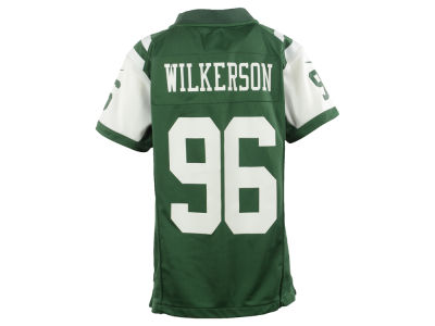 New York Jets Muhammad Wilkerson Nike NFL Youth Game Jersey