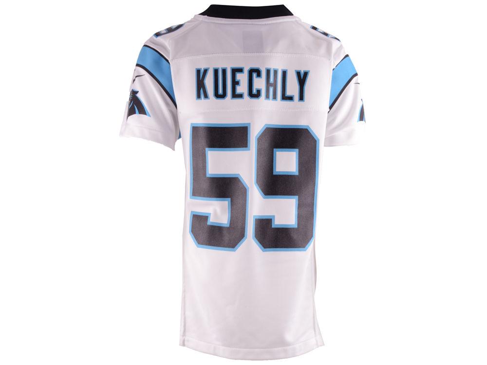 Carolina Panthers Luke Kuechly Nike NFL Youth Game Jersey  6306f3702