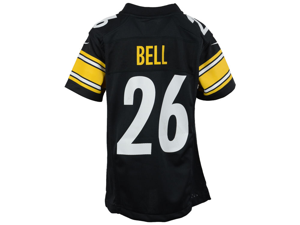 Pittsburgh Steelers Le Veon Bell Nike NFL Youth Game Jersey  7596f8508