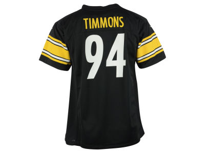 Pittsburgh Steelers Lawrence Timmons Nike NFL Youth Game Jersey