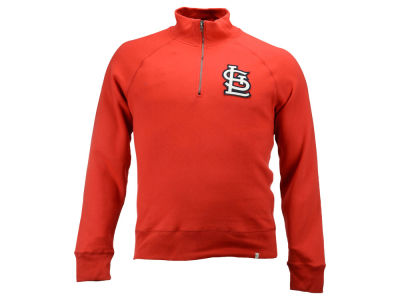 St. Louis Cardinals MLB Men's X-Check 1/4 Zip Up Pullover Shirt