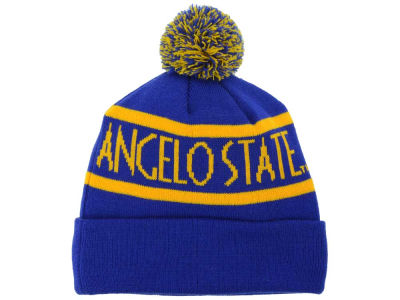 Angelo State University Rams Top of the World NCAA Slugfest Pom Knit