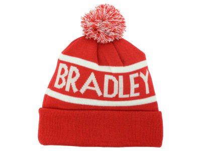 Bradley Braves Top of the World NCAA Slugfest Pom Knit
