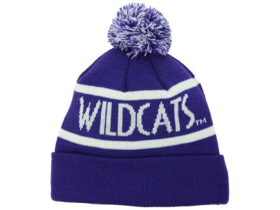 Northwestern Wildcats Top of the World NCAA Slugfest Pom Knit