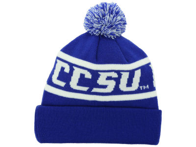 Central Connecticut State Devils Top of the World NCAA Slugfest Pom Knit