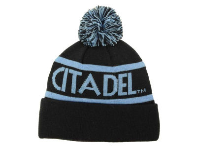 Citadel Bulldogs Top of the World NCAA Slugfest Pom Knit