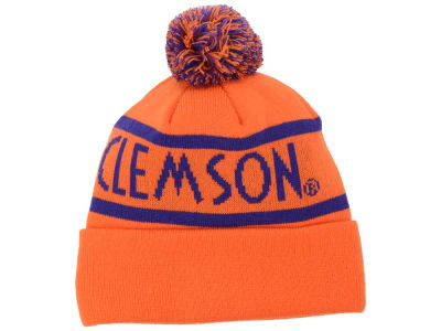 Clemson Tigers Top of the World NCAA Slugfest Pom Knit