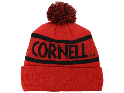 Cornell University Big Red Top of the World NCAA Slugfest Pom Knit