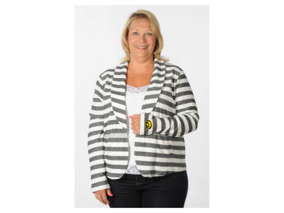 Iowa Hawkeyes NCAA Women's Plus Size Fleece Blazer