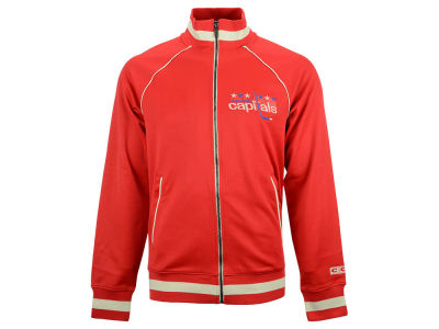 Washington Capitals Reebok NHL Men's CCM Applique Track Jacket