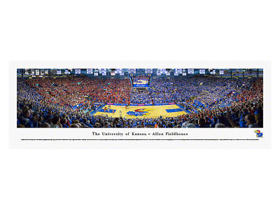 Kansas Jayhawks Unframed Panorama