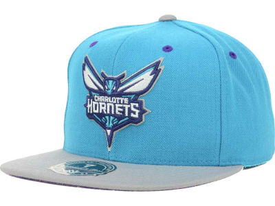Charlotte Hornets Mitchell and Ness NBA Hornets Collection Fitted Cap