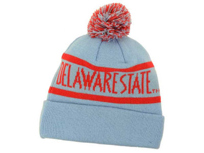 Delaware State Hornets Top of the World NCAA Slugfest Pom Knit