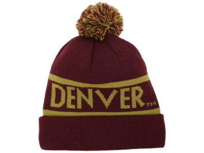Denver Pioneers Top of the World NCAA Slugfest Pom Knit