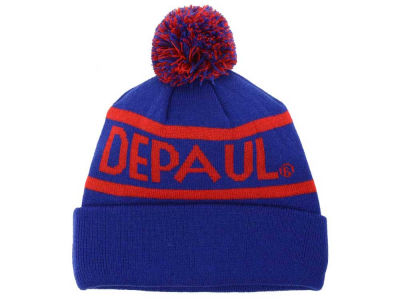 DePaul Blue Demons Top of the World NCAA Slugfest Pom Knit