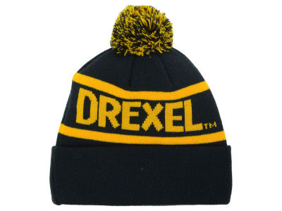 Drexel Dragon Top of the World NCAA Slugfest Pom Knit