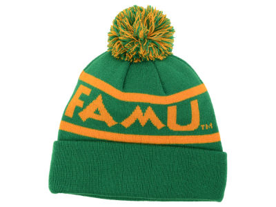 Florida A&M Rattlers Top of the World NCAA Slugfest Pom Knit