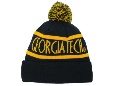 Georgia-Tech Top of the World NCAA Slugfest Pom Knit
