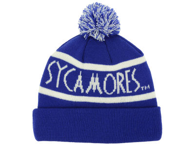 Indiana State Sycamores Top of the World NCAA Slugfest Pom Knit